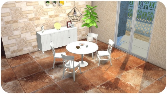 Sims 4 Stone Floor Tiles at TaTschu`s Sims4 CC