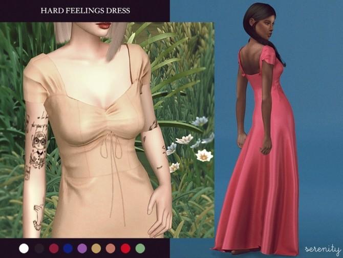 Sims 4 Hard Feelings Dress at SERENITY