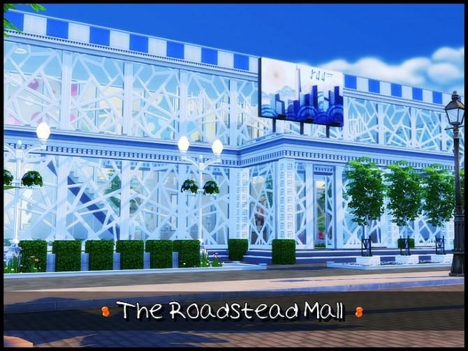Sims 4 The Roadstead Mall at SkyFallSims Creation´s