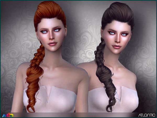 Sims 4 Atlantic Hair by Anto at TSR