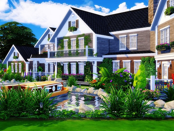 The Lake House by MychQQQ at TSR image 11414 Sims 4 Updates