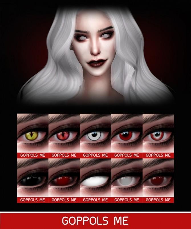 Sims 4 GPME Holloween Eyes at GOPPOLS Me