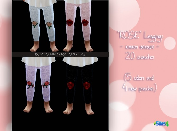 ROSE Leggings at Rimshard Shop image 1174 670x496 Sims 4 Updates