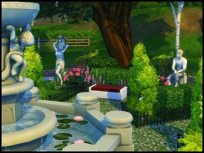 Sims 4 The Shrieking Llama Park at SkyFallSims Creation´s