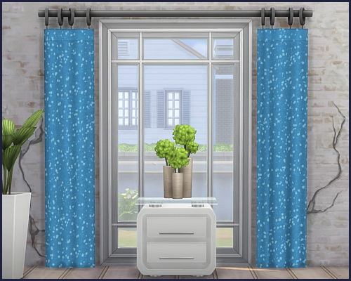 Harmonie City curtains at CappusSims4You image 1192 Sims 4 Updates