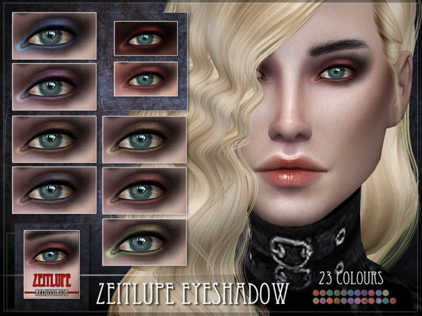 Sims 4 Zeitlupe Eyeshadow by RemusSirion at TSR
