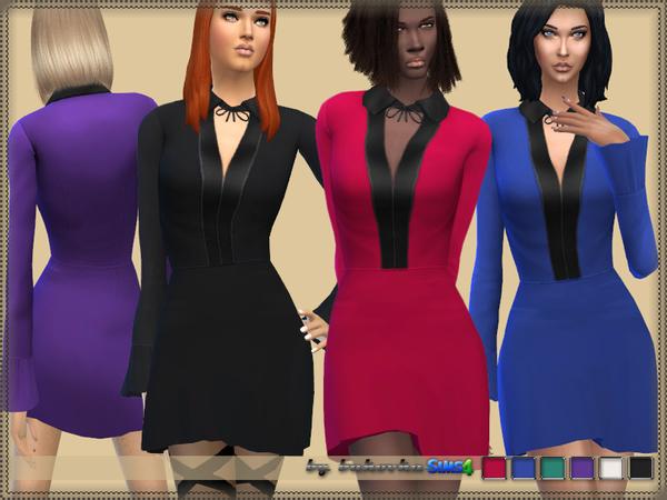 Sims 4 Dress Frill 2 by bukovka at TSR