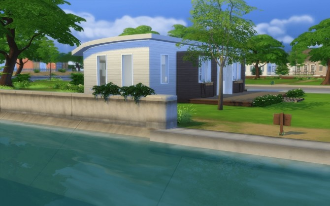 Sims 4 Le Mobil Home at Rabiere Immo Sims