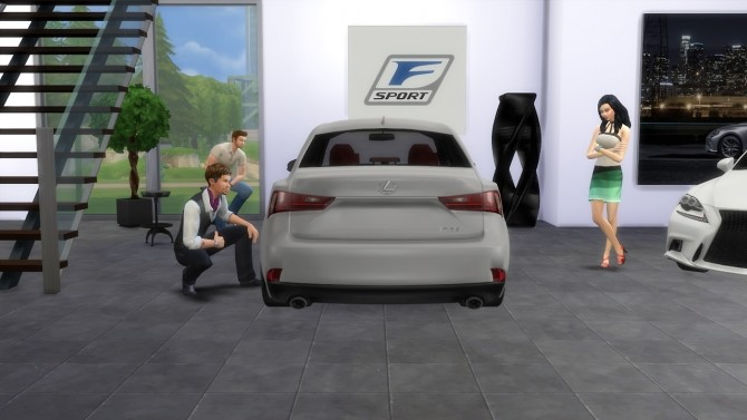 Sims 4 Lexus IS 350 F at LorySims