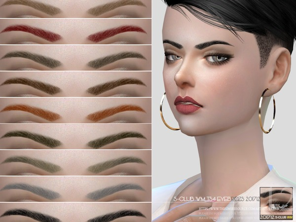 Eyebrows F 201712 by S Club WM at TSR image 1312 Sims 4 Updates