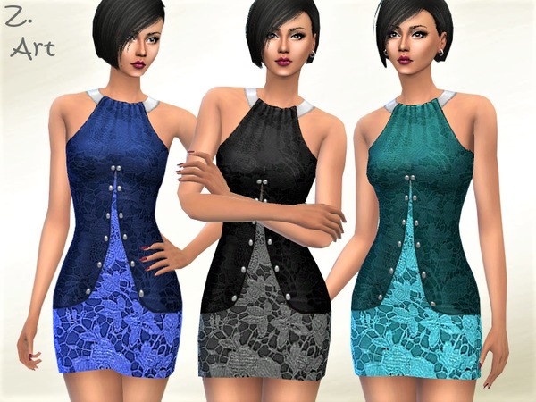 TrendZ 12 double layer stretch mini by Zuckerschnute20 at TSR image 1319 Sims 4 Updates