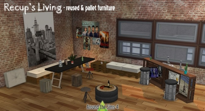 Récup Living room at Around the Sims 4 image 134 670x364 Sims 4 Updates