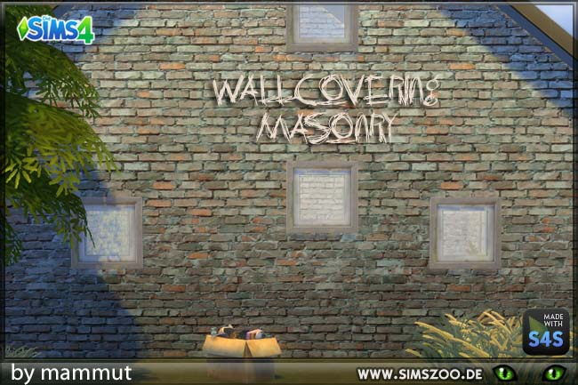 Old Bricks 2 by mammut at Blacky's Sims Zoo image 1352 Sims 4 Updates