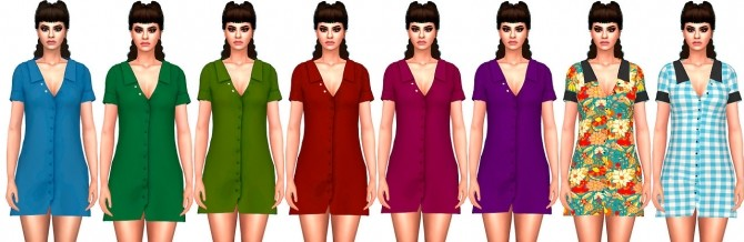 SgiSims Lavender Dress Conversion at Astya96 image 1355 670x218 Sims 4 Updates