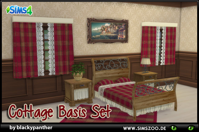 Cottage Basis Set by blackypanther at Blacky's Sims Zoo image 136 Sims 4 Updates