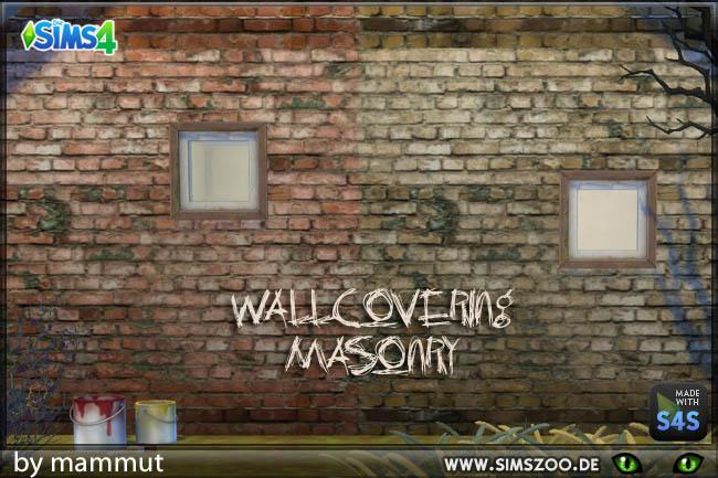 Sims 4 Old Bricks 1 by mammut at Blacky's Sims Zoo