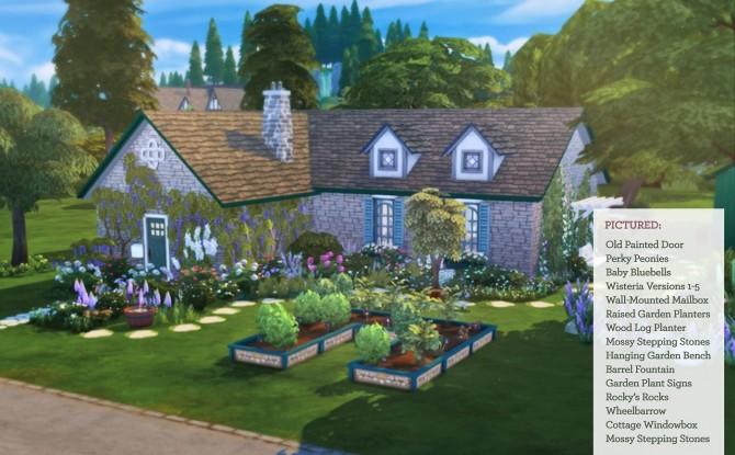 Sims 4 Cottage Garden Stuff Pack at The Plumbob Tea Society