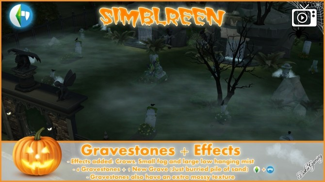 Simblreen Gravestones + Effects by Bakie at Mod The Sims image 13710 670x377 Sims 4 Updates