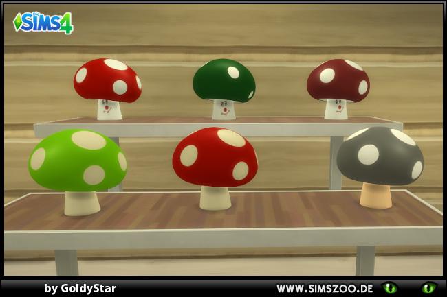 Sims 4 Mushrooms by GoldyStar at Blacky's Sims Zoo