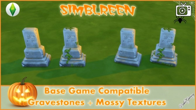 Simblreen Gravestones + Effects by Bakie at Mod The Sims image 1389 670x377 Sims 4 Updates