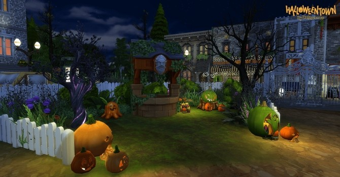 HALLOWEEN TOWN by Waterwoman at Akisima image 13910 670x349 Sims 4 Updates