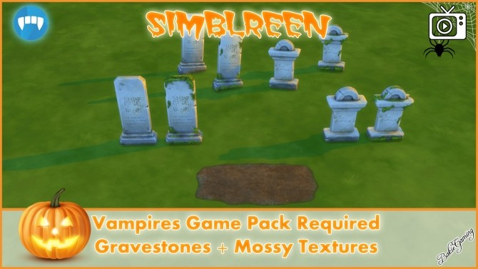 Simblreen Gravestones + Effects by Bakie at Mod The Sims image 1399 670x377 Sims 4 Updates