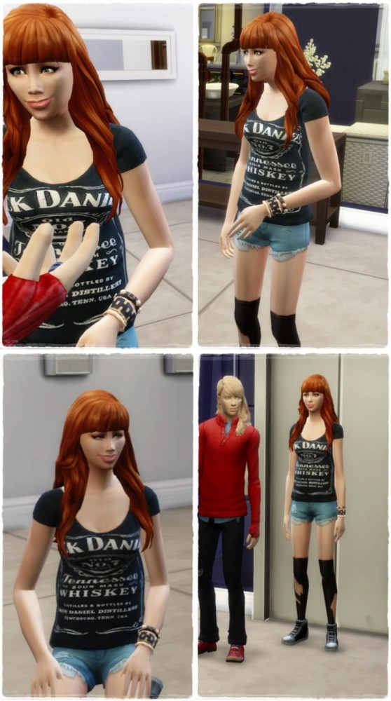 Sims 4 Friendly Waves female at Birksches Sims Blog