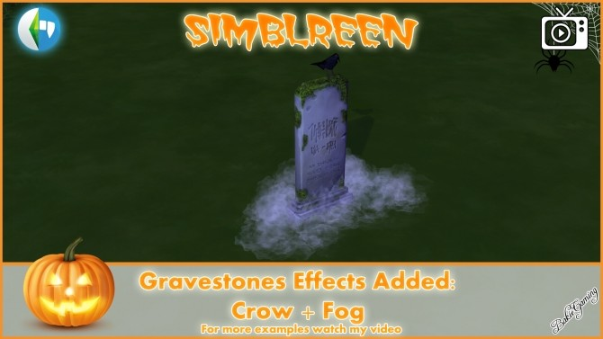 Simblreen Gravestones + Effects by Bakie at Mod The Sims image 1409 670x377 Sims 4 Updates