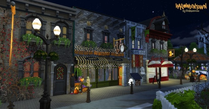 HALLOWEEN TOWN by Waterwoman at Akisima image 14116 670x349 Sims 4 Updates
