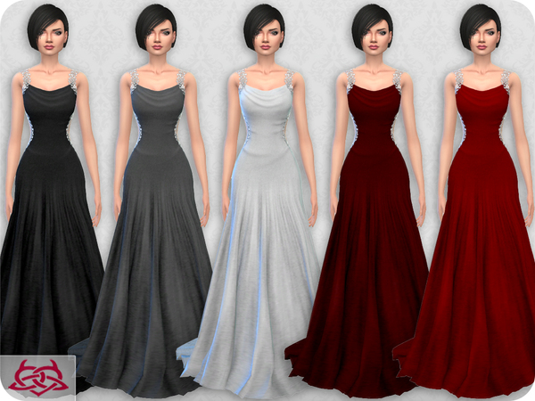Wedding Dress 10 RECOLOR 3 by Colores Urbanos at TSR image 1413 Sims 4 Updates