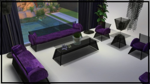 PEEK A BOO Living Room & Dining Room Set at NEW Luxurious Sims 4 image 1415 Sims 4 Updates