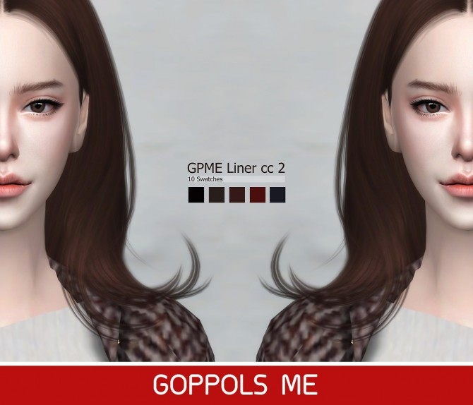 Sims 4 GPME Liner cc2 at GOPPOLS Me