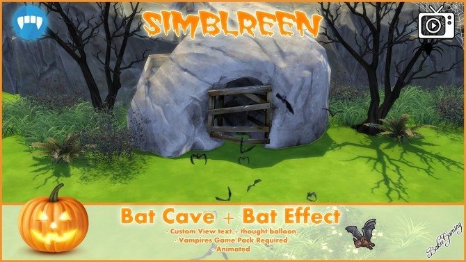 Simblreen Bat Cave + effect by Bakie at Mod The Sims image 1468 670x377 Sims 4 Updates