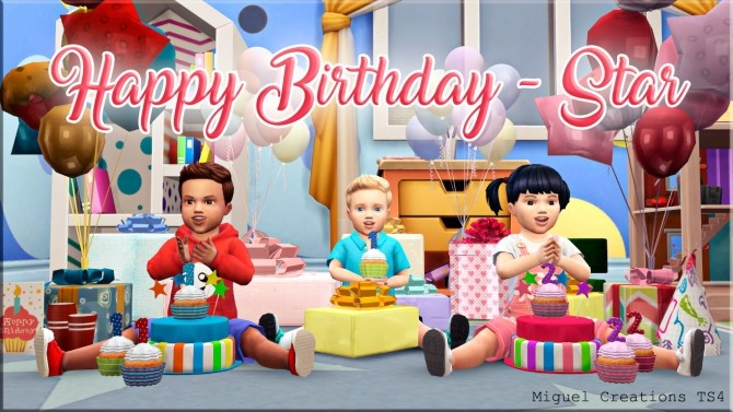 Happy Birthday Star at Victor Miguel image 1478 670x377 Sims 4 Updates