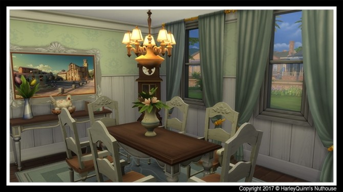 Sims 4 Country Manor house at Harley Quinn's Nuthouse