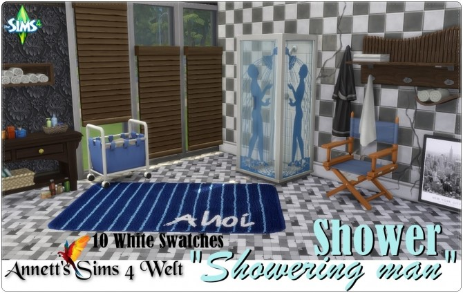 Showering man shower at Annett's Sims 4 Welt image 15111 670x424 Sims 4 Updates