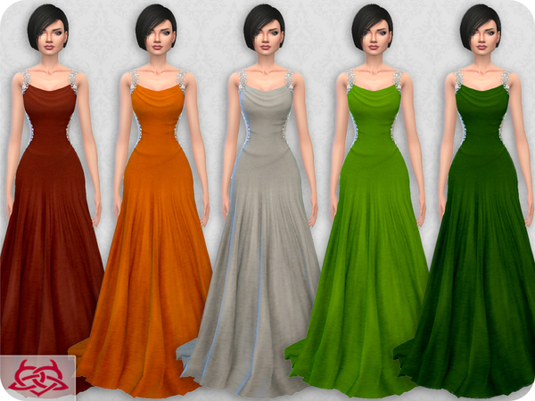 Wedding Dress 10 RECOLOR 3 by Colores Urbanos at TSR image 1513 Sims 4 Updates