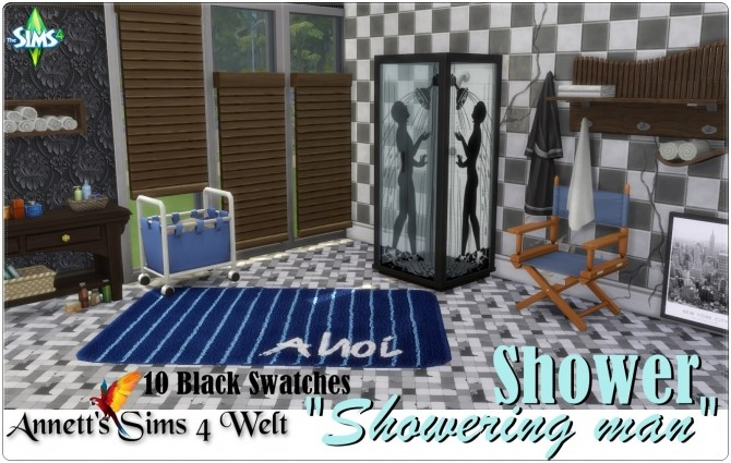 Showering man shower at Annett's Sims 4 Welt image 1524 670x425 Sims 4 Updates