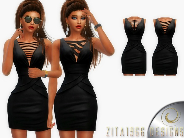 Sims 4 That Little Black Dress by ZitaRossouw at TSR