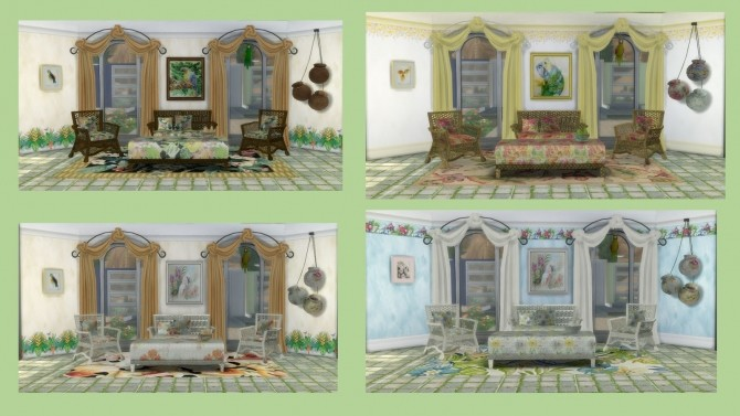 TROPICAL SET at Alelore Sims Blog image 154 670x377 Sims 4 Updates