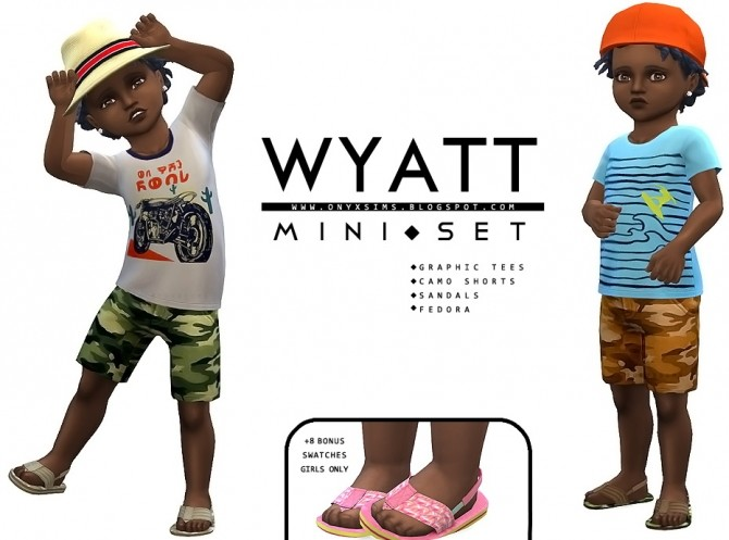 Wyatt Mini Set at Onyx Sims image 156 670x497 Sims 4 Updates