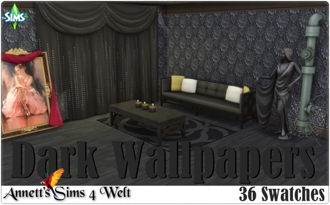 Dark Wallpapers at Annett's Sims 4 Welt image 1562 670x416 Sims 4 Updates