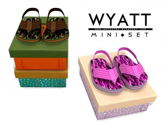 Sims 4 Wyatt Mini Set at Onyx Sims