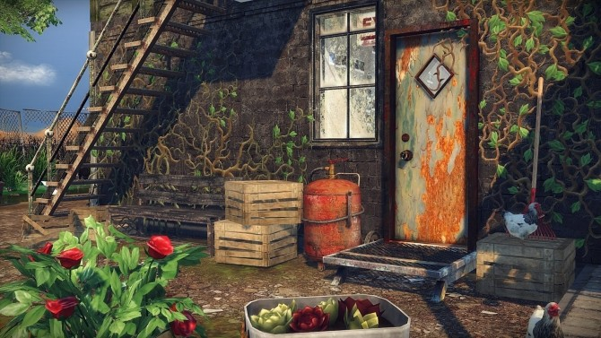 Post Apocalyptic Life At Frau Engel 187 Sims 4 Updates