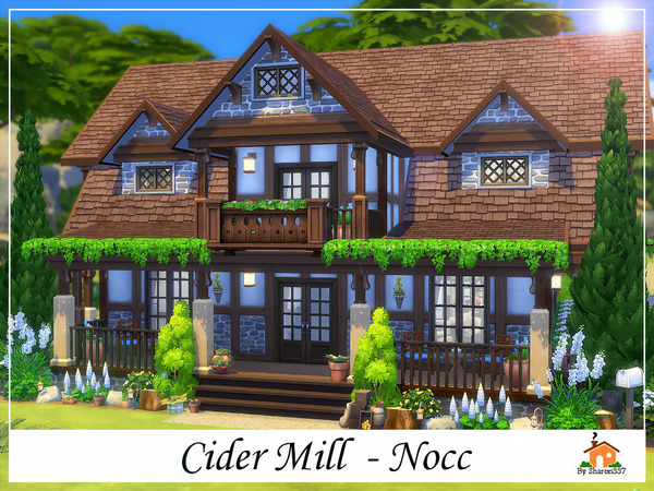 Sims 4 Cider Mill family home by sharon337 at TSR