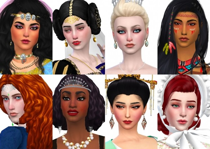Historically Accurate Princess Series Part 1 at The Sims 4 Middle Easterners & South Asians image 1663 670x478 Sims 4 Updates