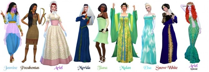 Historically Accurate Princess Series Part 1 at The Sims 4 Middle Easterners & South Asians image 1674 670x232 Sims 4 Updates