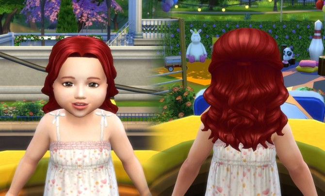 Sims 4 Lonely Hair for Toddlers at My Stuff