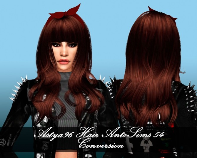Sims 4 AntoSims Hair 54 Conversion at Astya96