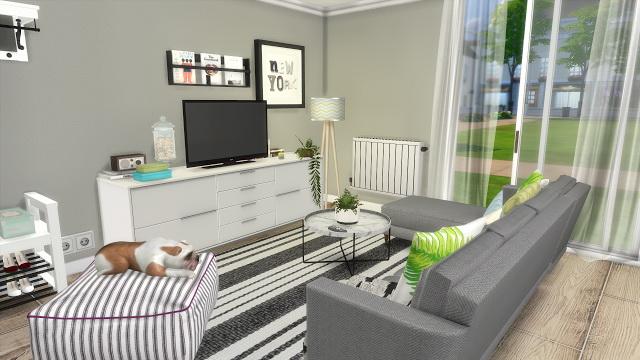 Ikea Kitchen + Livingroom at Dinha Gamer image 1688 Sims 4 Updates